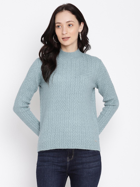 METTLE | Women LIGHT MINT Sweaters