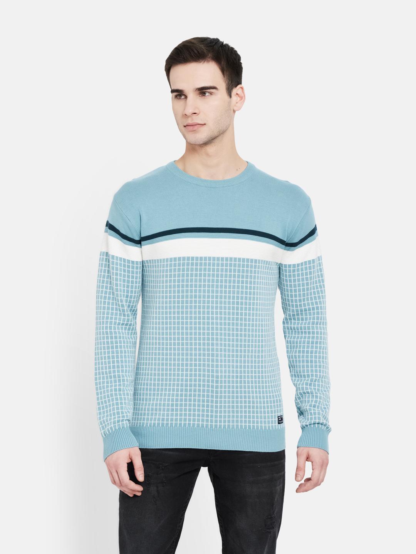 METTLE | Men LIGHT TEAL Sweaters