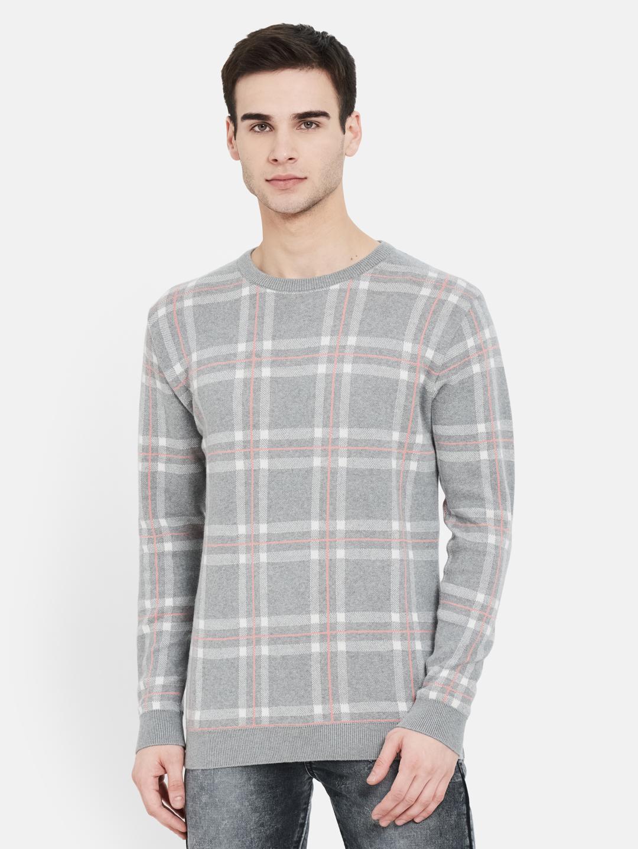 METTLE | Men GREY MELANGE Sweaters