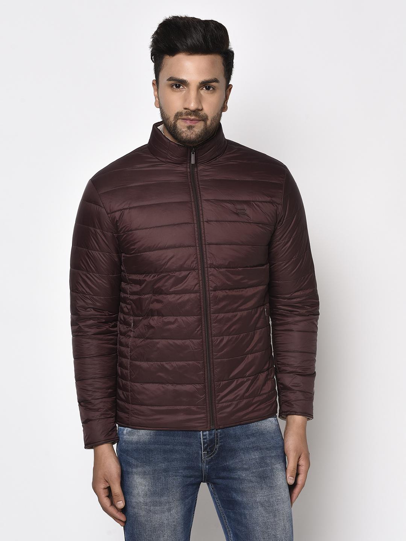 METTLE | Men WINE Front Open Jackets