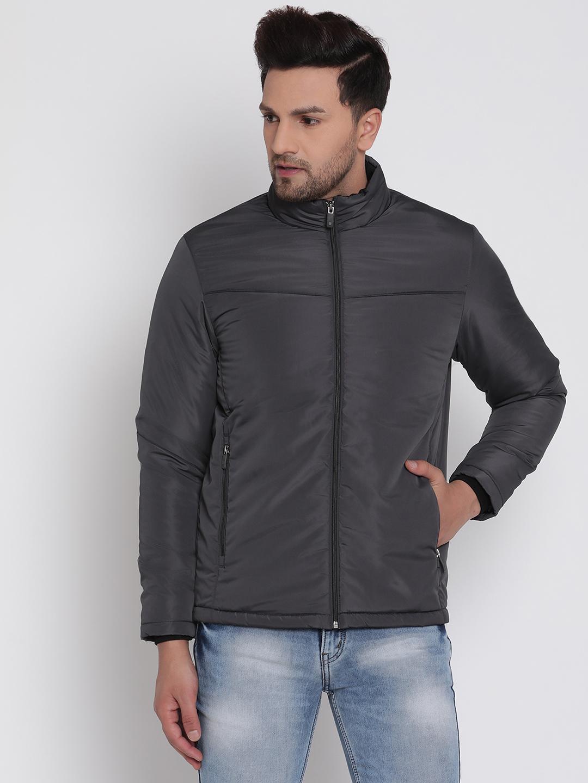 METTLE | Men DEEP GREY Front Open Jackets