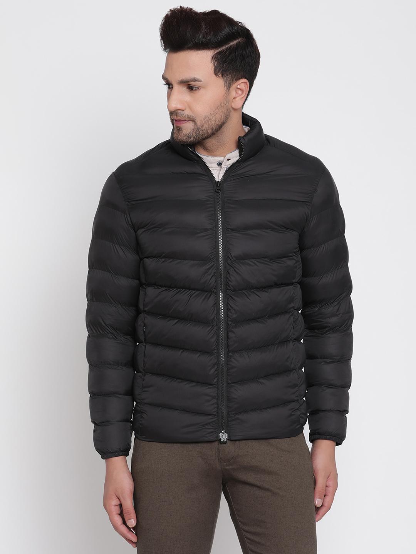 METTLE | Men BLACK Front Open Jackets