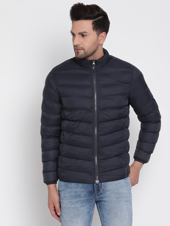 METTLE | Men NAVY Front Open Jackets
