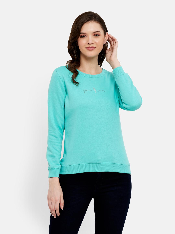 METTLE   Women MINT Sweatshirts