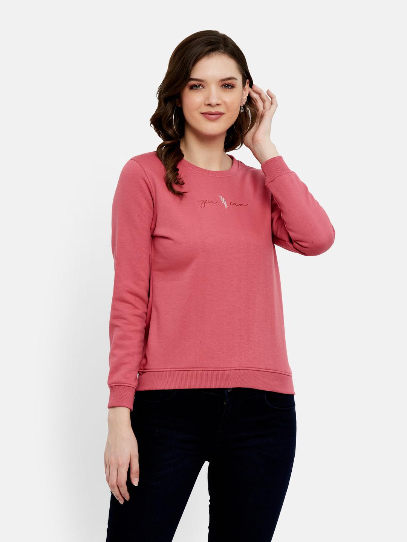 METTLE   Women RASPBERRY Sweatshirts