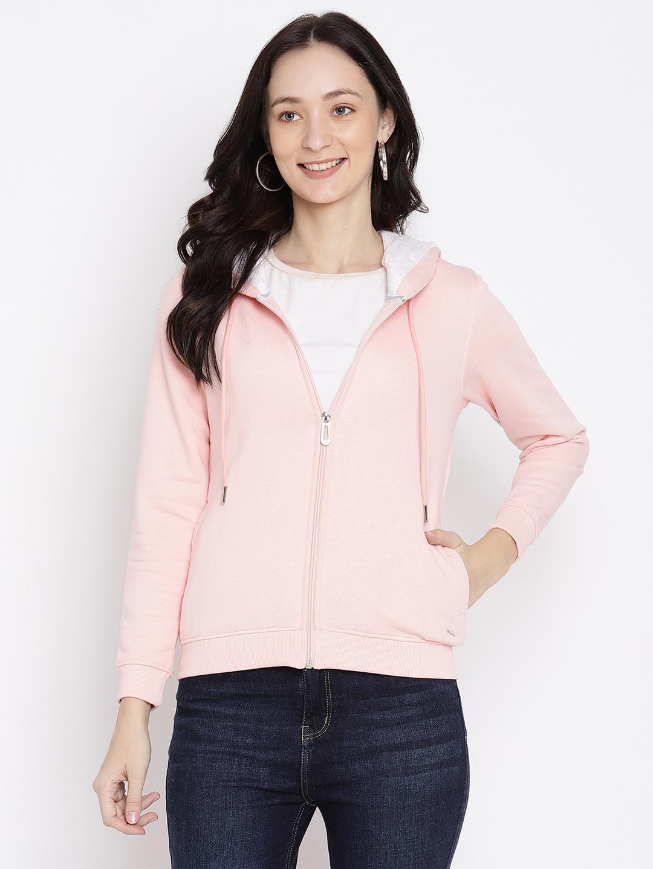 METTLE   Women PASTEL PINK Sweatshirts