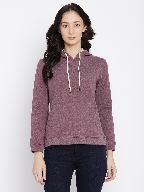 METTLE   Women LAVENDER Sweatshirts