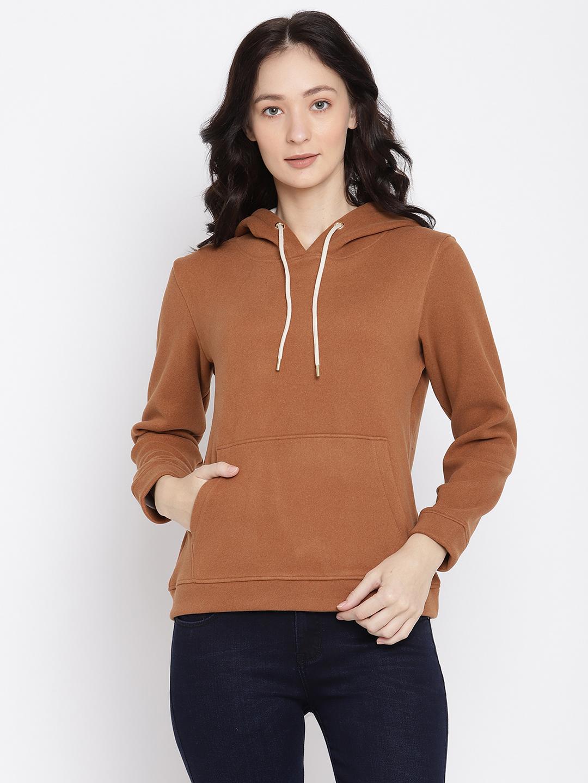 METTLE   Women TAN Sweatshirts