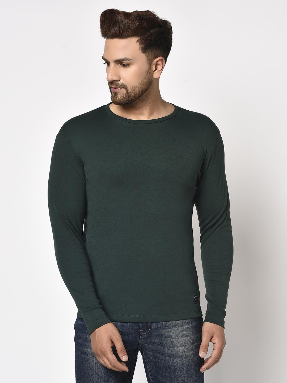 METTLE | Men MOUNTAIN GREEN T-Shirts
