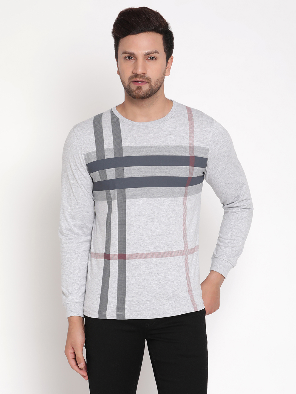 METTLE | Men GREY MELANGE T-Shirts