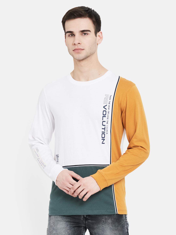 METTLE | Men DUSTY MUSTARD T-Shirts
