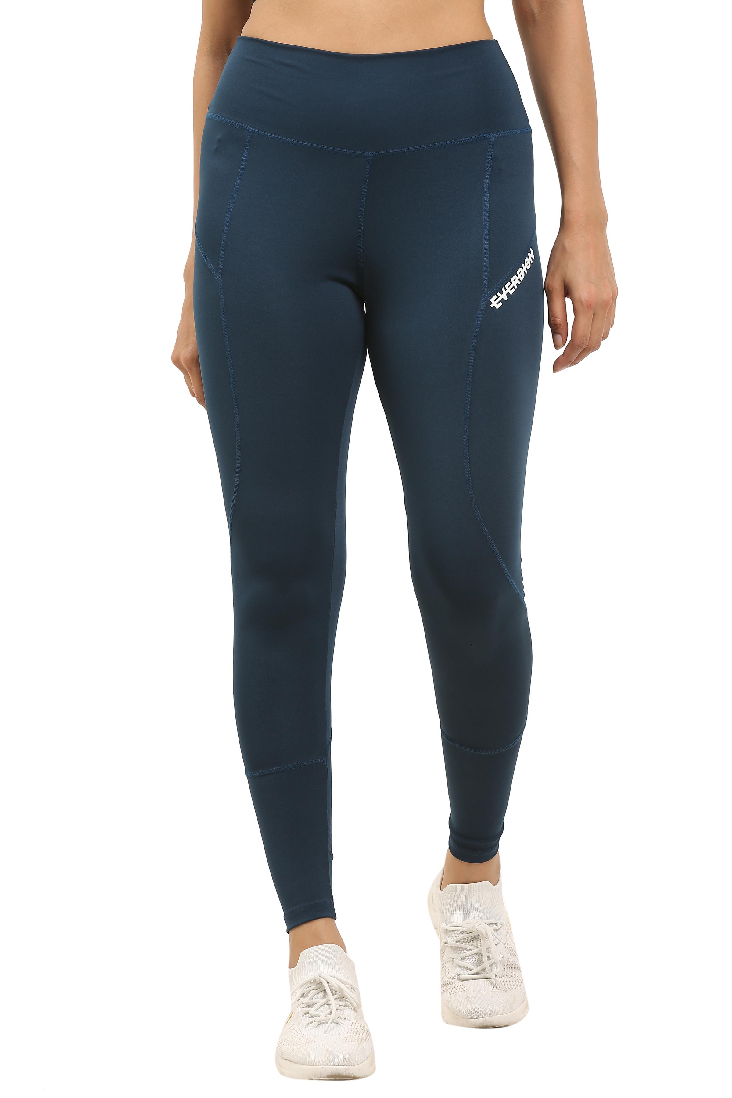 EVERDION | Blue Sports Leggings