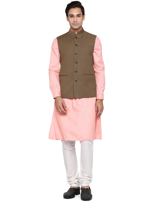 Modi Jacket | MJK127-COFFEE PLAIN