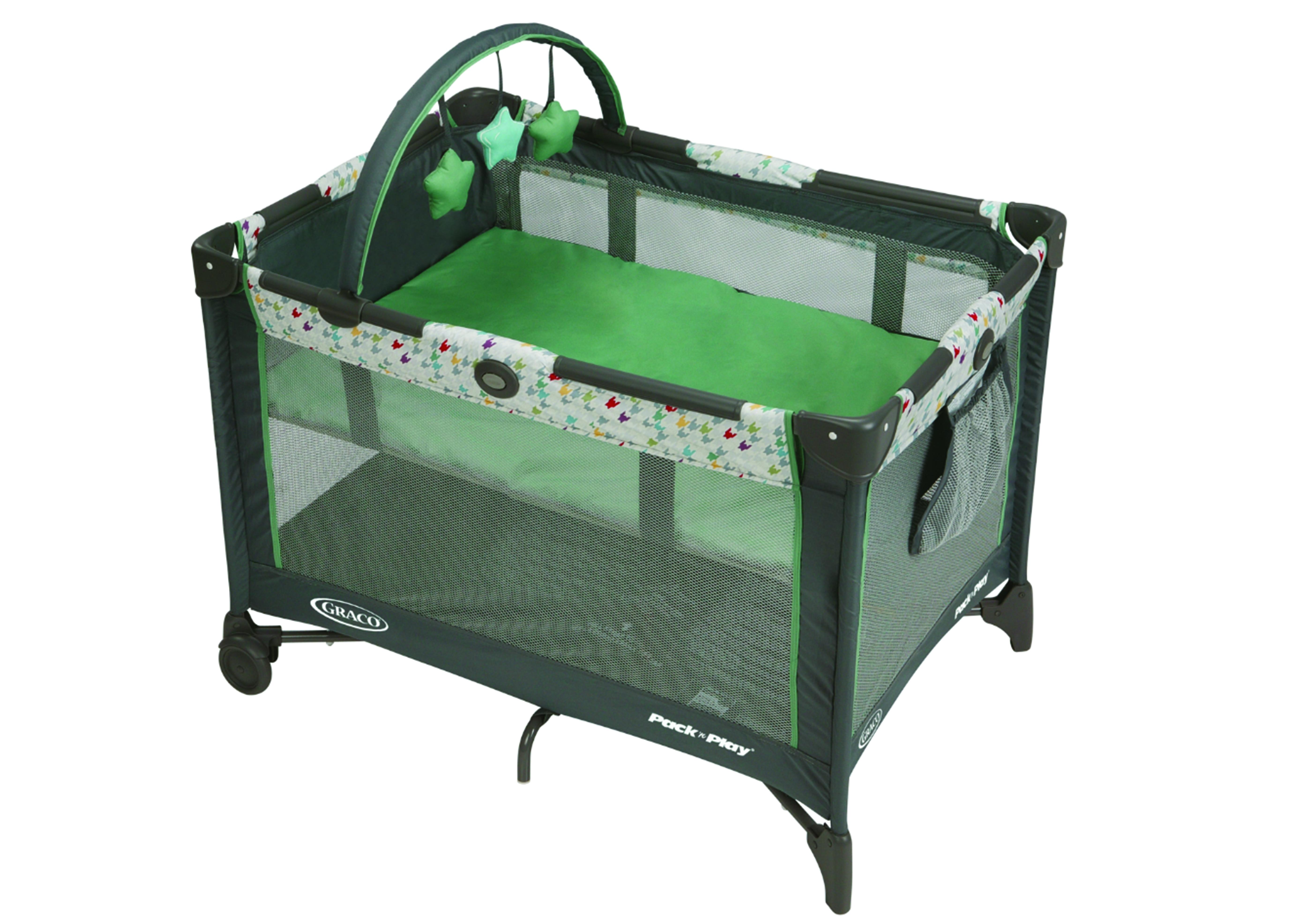 Mothercare | Graco Pnp Base Lambert Travel Cot Multicolor