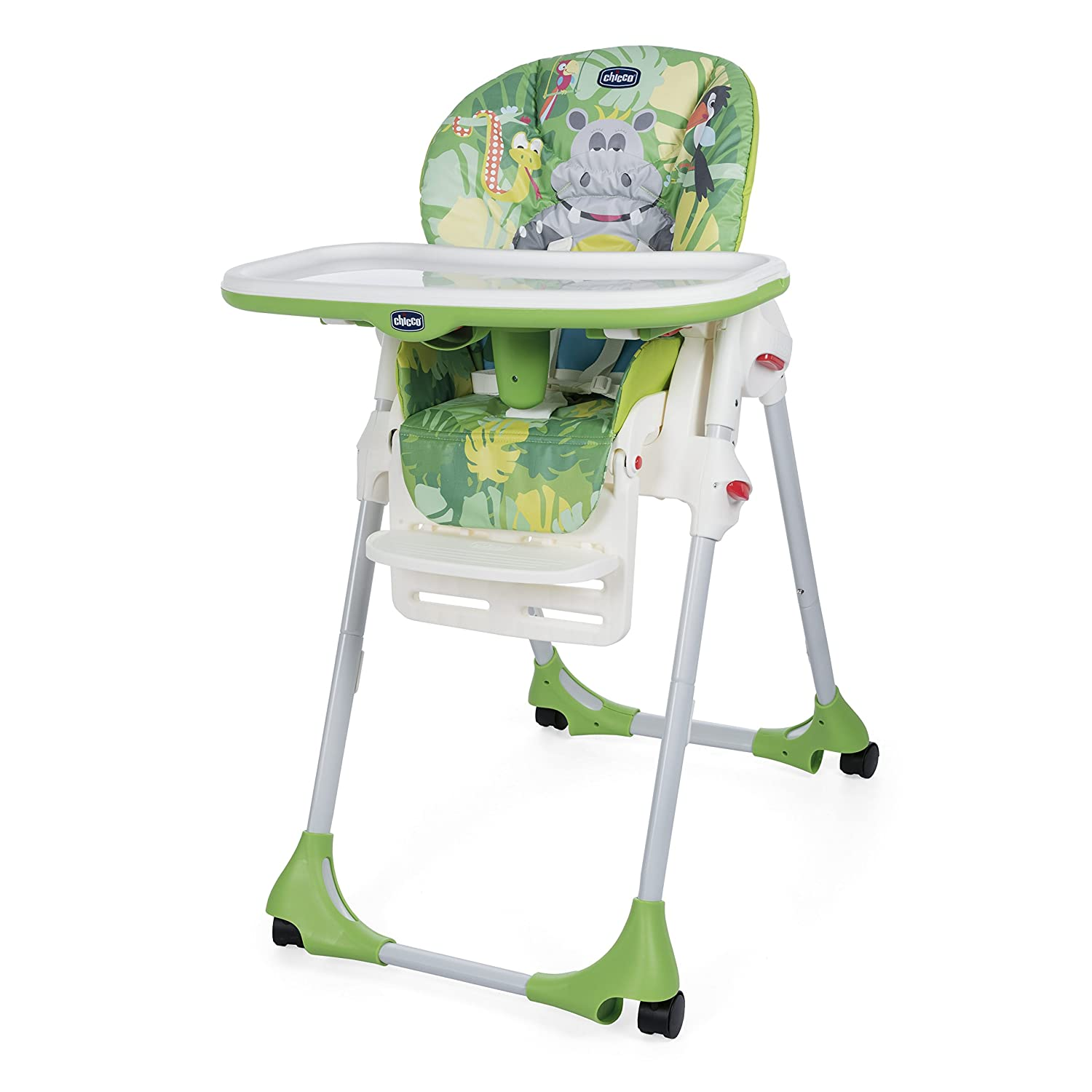 Mothercare | Chicco Polly Happy Jungle Baby Highchair