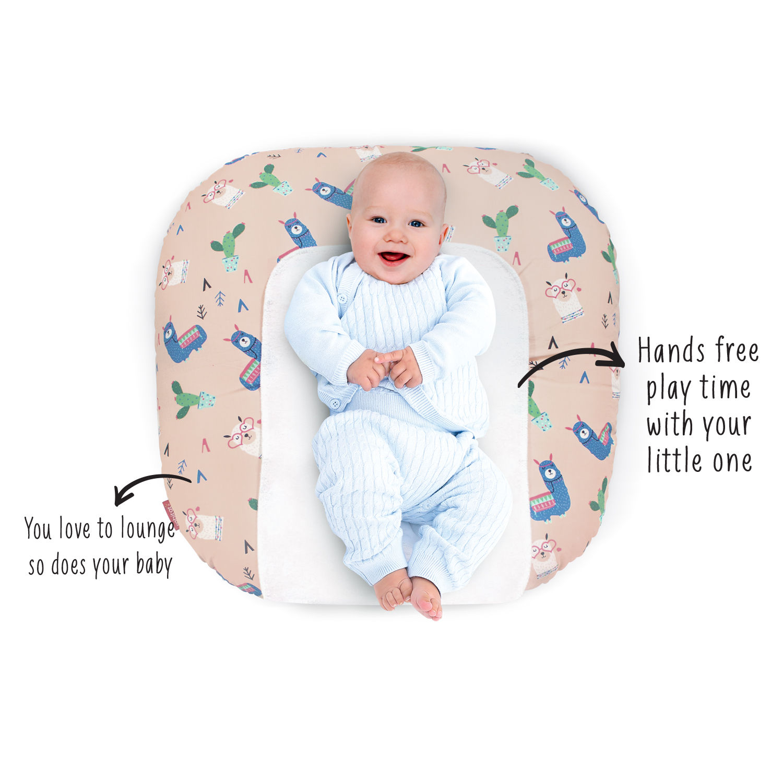 Mothercare | Rabitat Grad Llama Snooze Baby Lounger