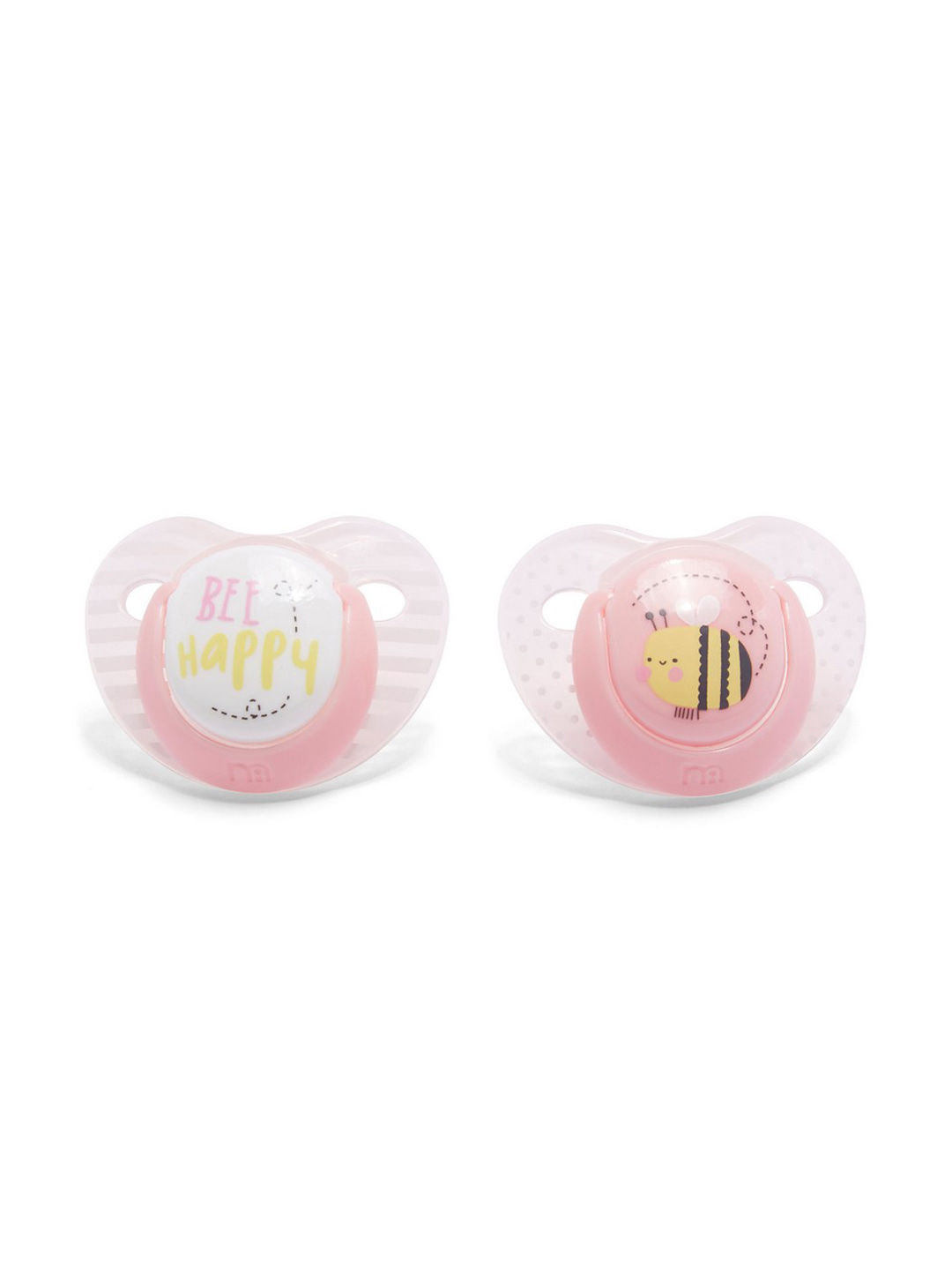 Mothercare | Orthodontic Soothers 0 Months - Pack of 2