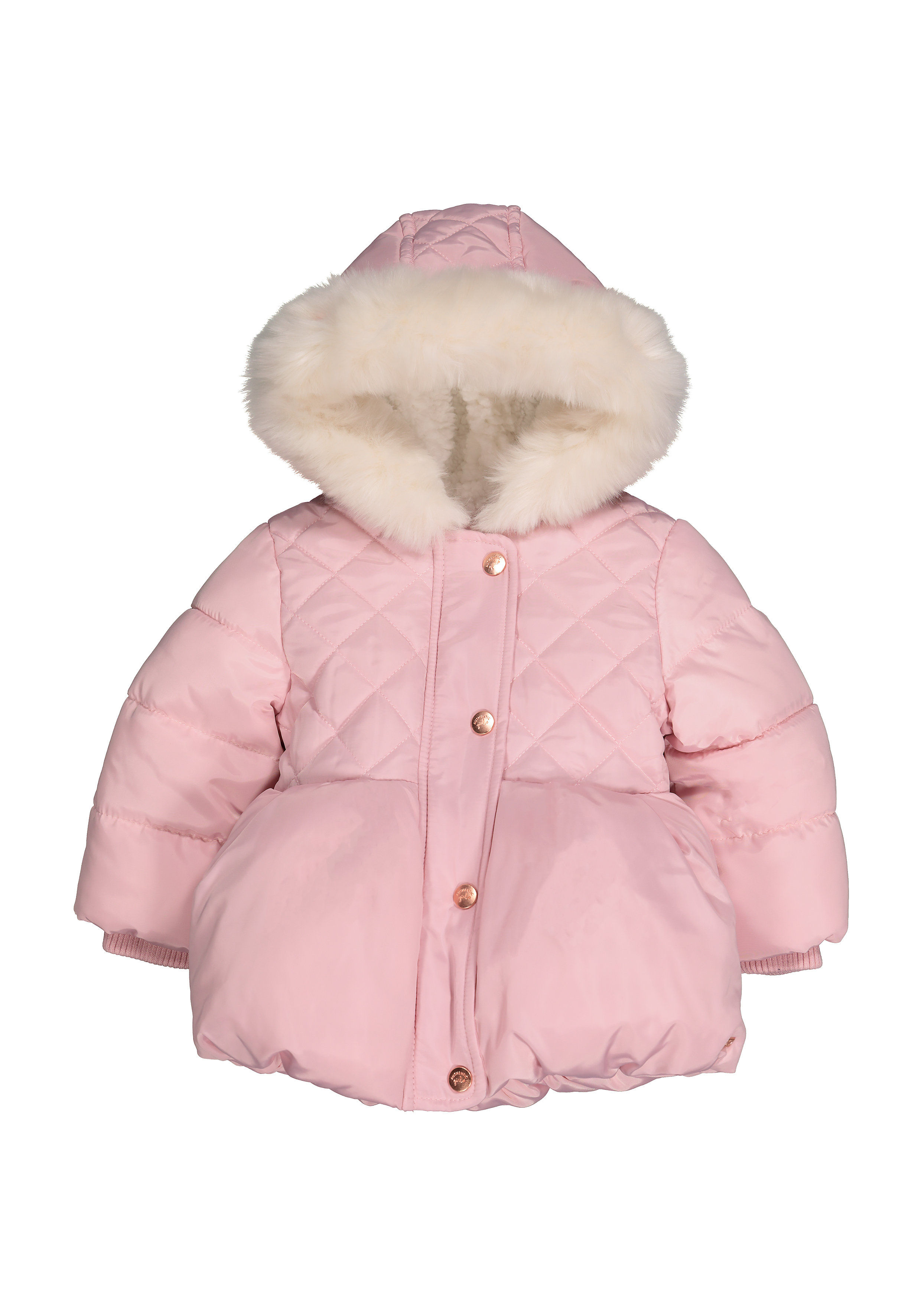 Mothercare | Girls Full Sleeves Jacket With Hood - Pink
