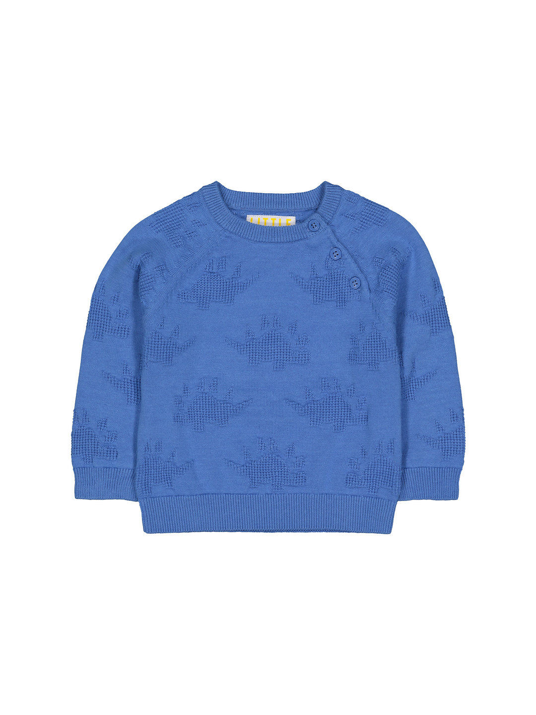Mothercare | Blue Knitted Dino Jumper