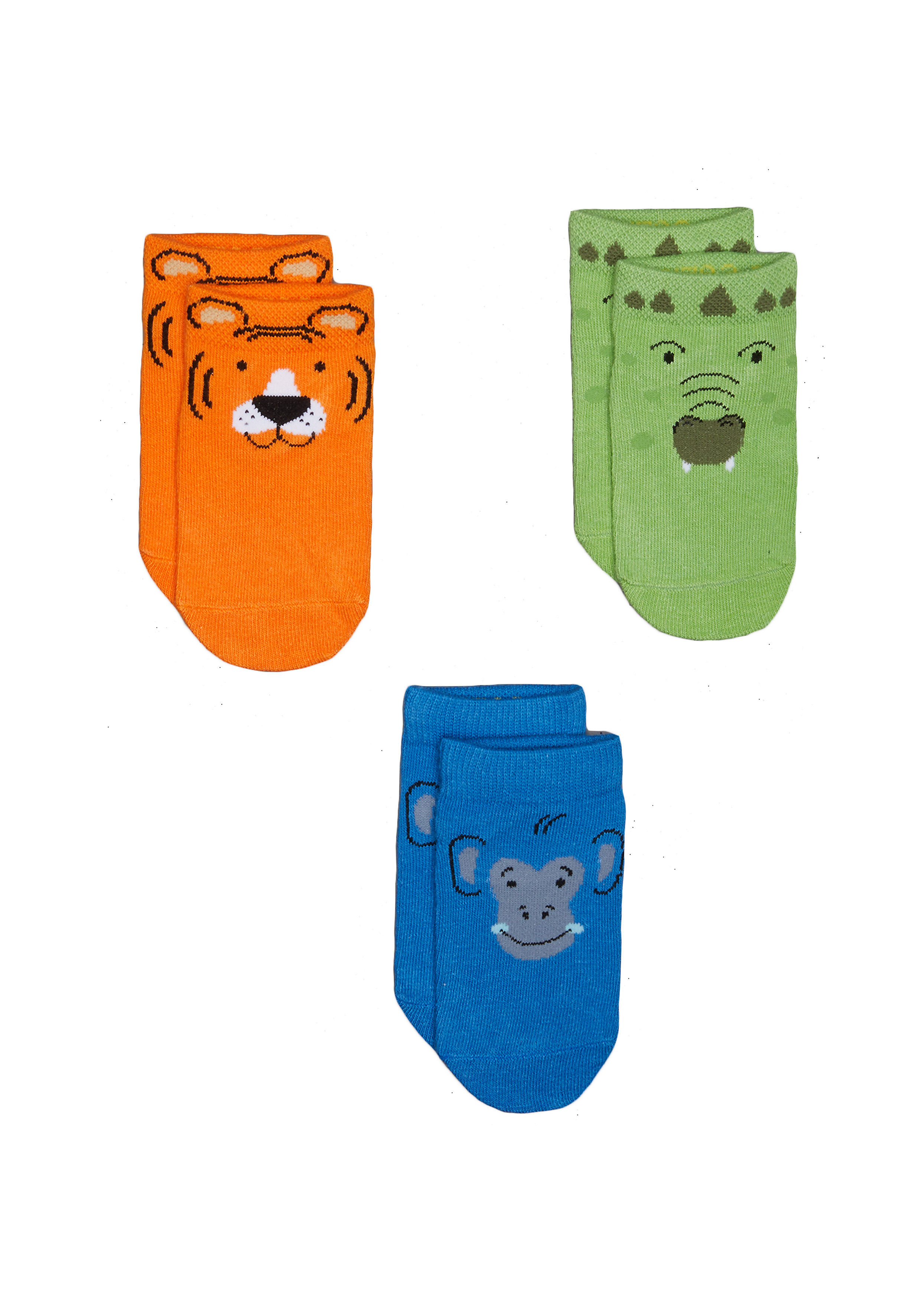 Mothercare   Boys Socks  - Pack Of 3 - Multicolor