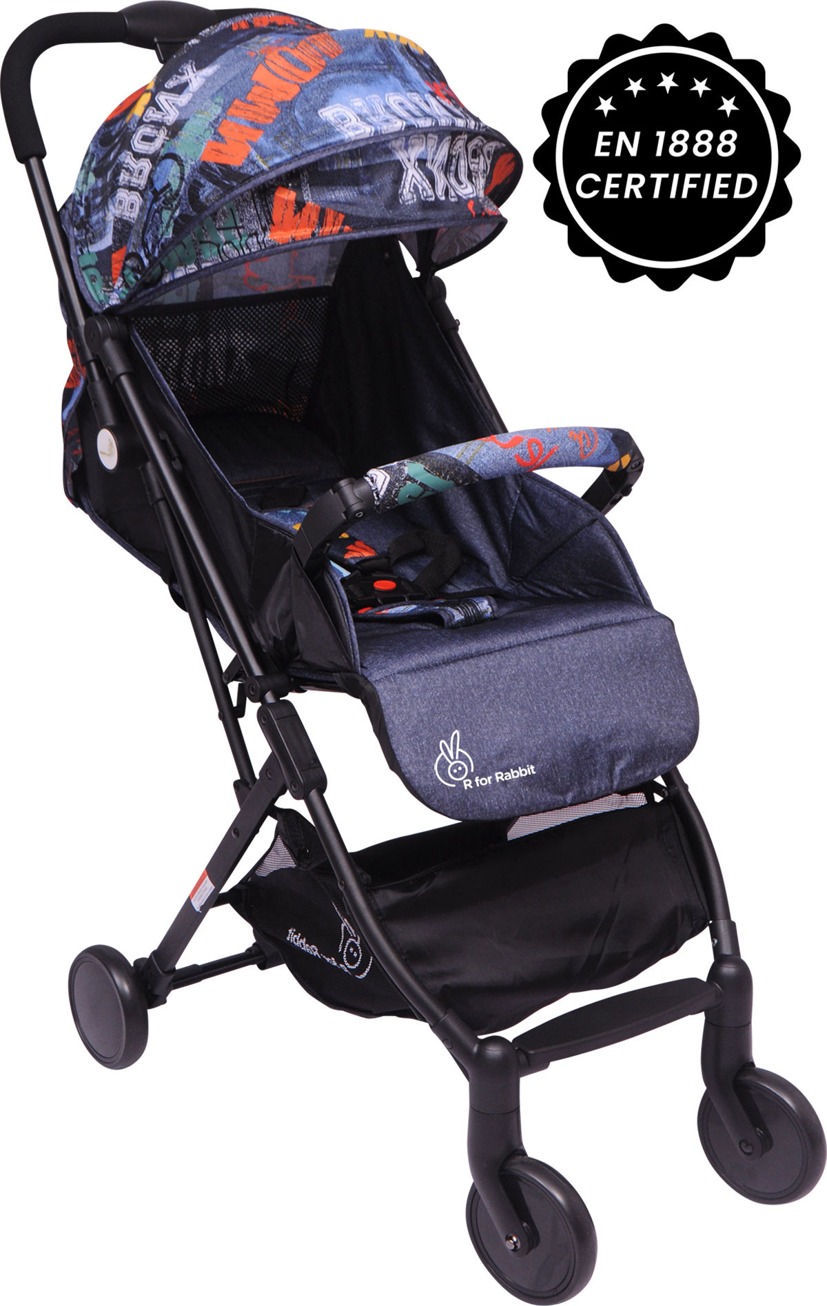 Mothercare | R For Rabbit Pocket Lite Baby Strollers Grey