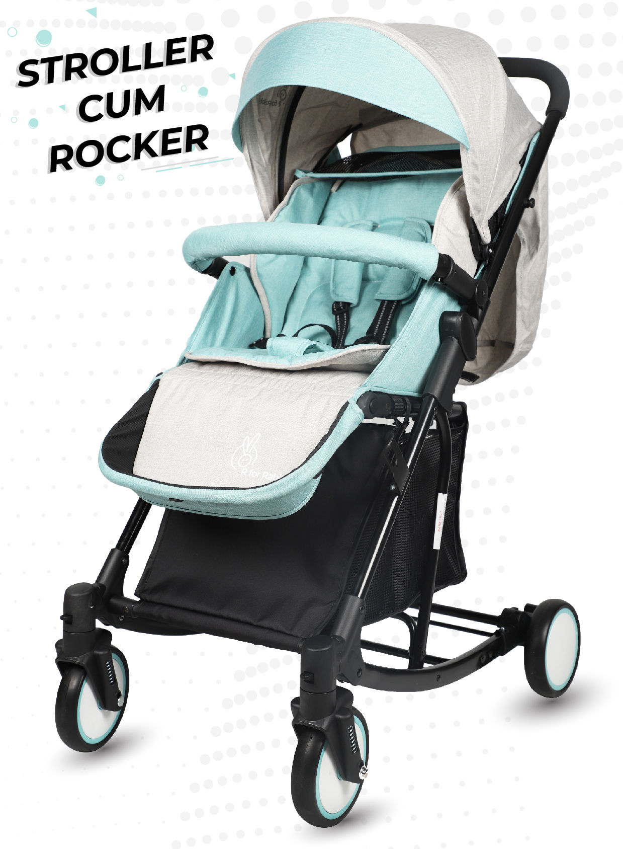Mothercare   R For Rabbit Rock N Roll Baby Strollers Green