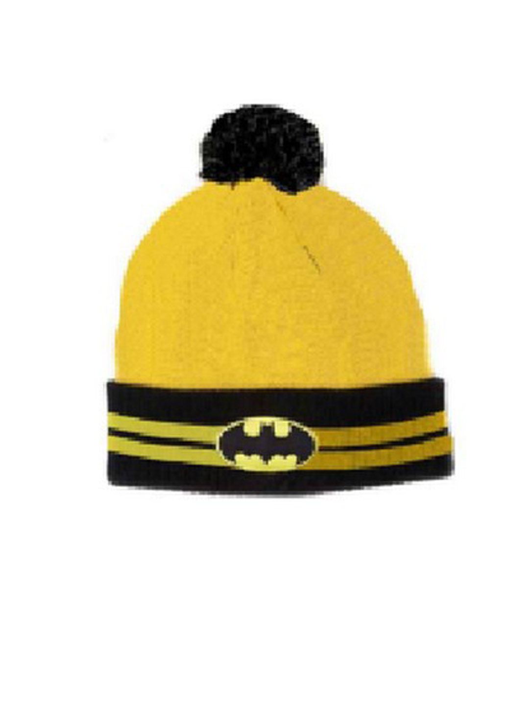 Mothercare | Kidsville Boys Beanie Batman-Yellow