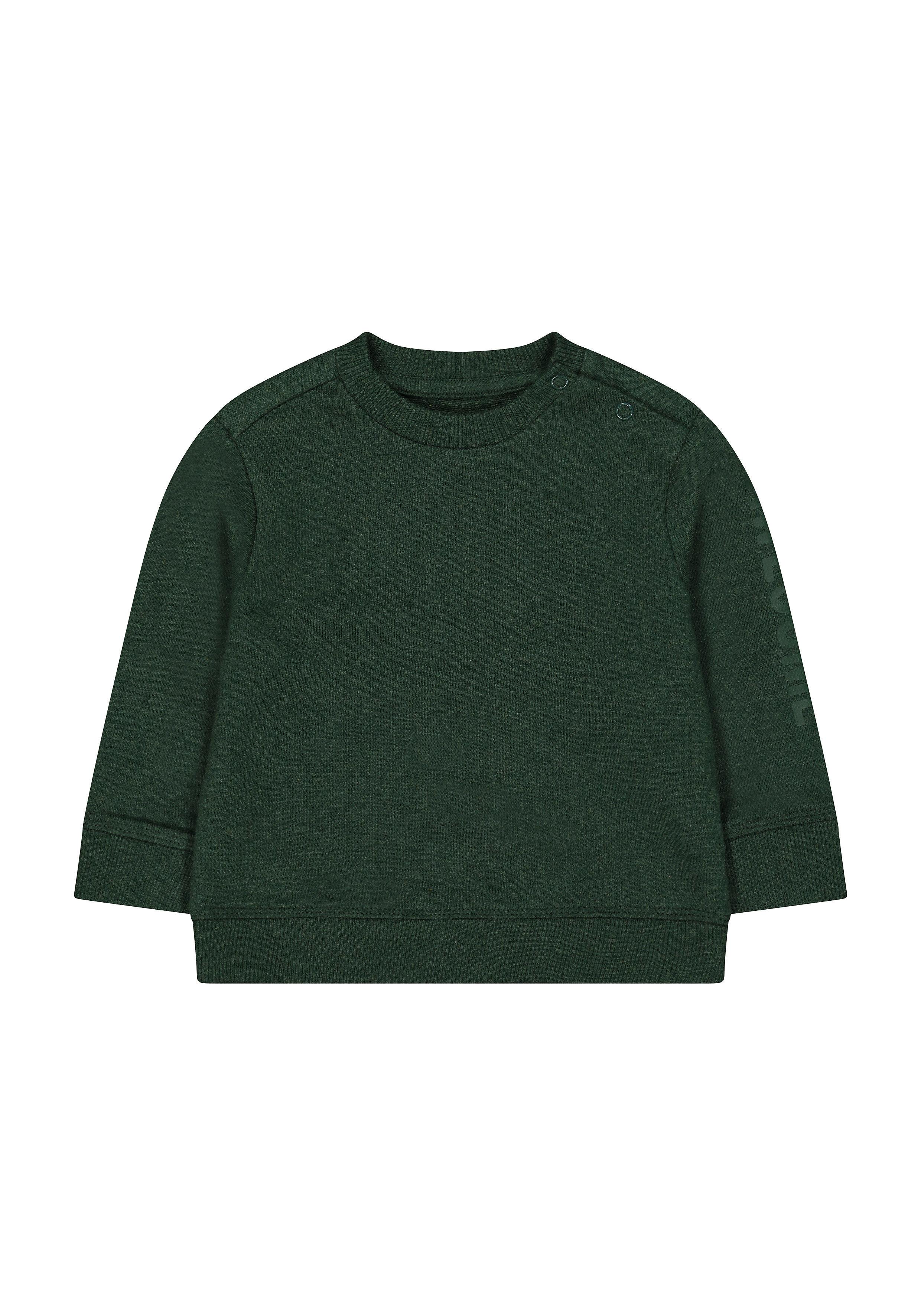 Mothercare | Boys Full Sleeves Sweatshirt Text Print - Green