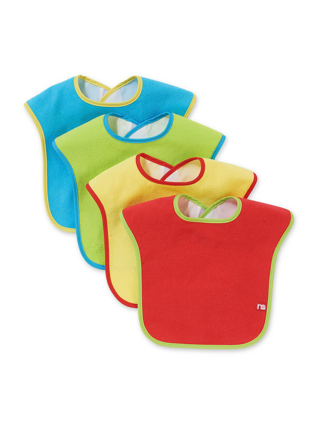 Mothercare   Towelling Bibs - Pack of 4