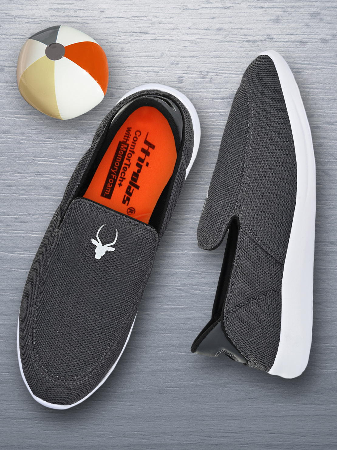 Hirolas | Hirolas® Men's Walking Sports Shoes - Grey