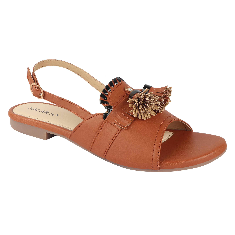 SALARIO   Salario Textured Flat Sandals