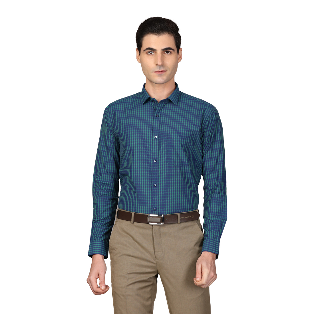 Next Look | Next Look Dark Green Shirt