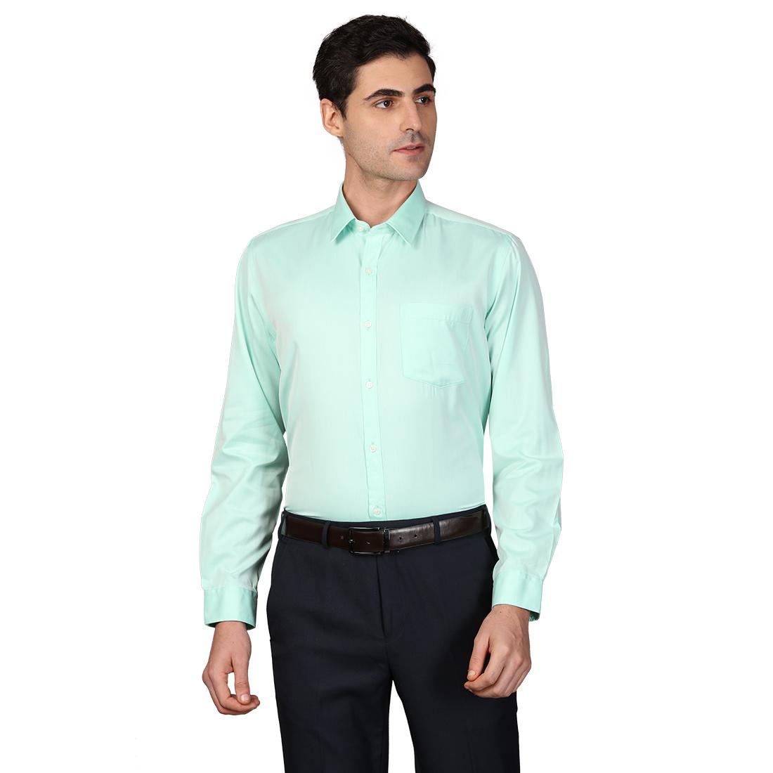 Next Look | Next Look Medium Green Shirt