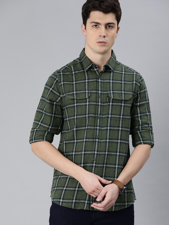 The Bear House | TBH 2-pocket Brushed Plaid Shirt