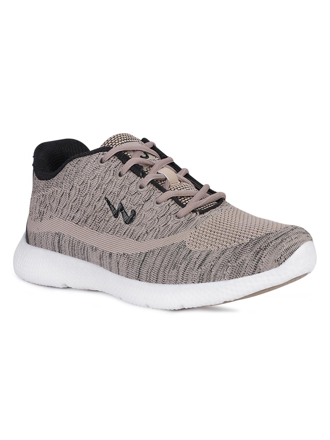Campus Shoes | Beige Crest Running Shoes