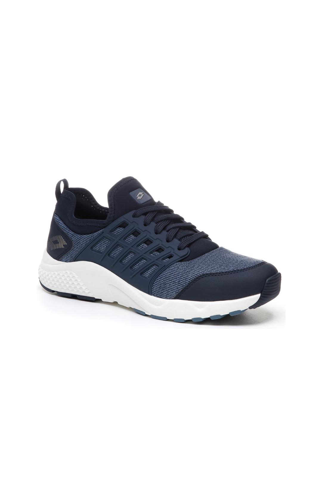 Lotto   Lotto Men's Breeze Free Iv Mlg Dark Blue/Gravity Titan/Blue Mirage Running Shoes