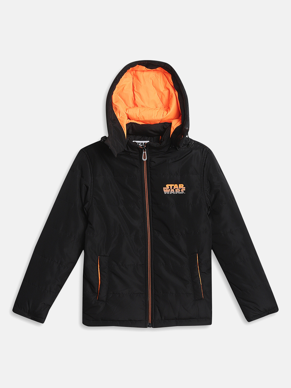 OCTAVE | Boys BLACK Front Open Jackets