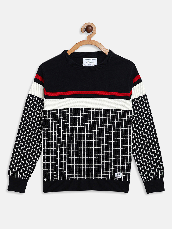 OCTAVE | Boys NAVY Sweaters