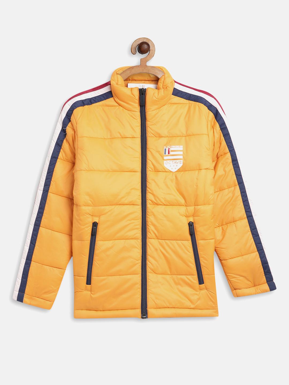 OCTAVE | Boys MUSTARD Front Open Jackets