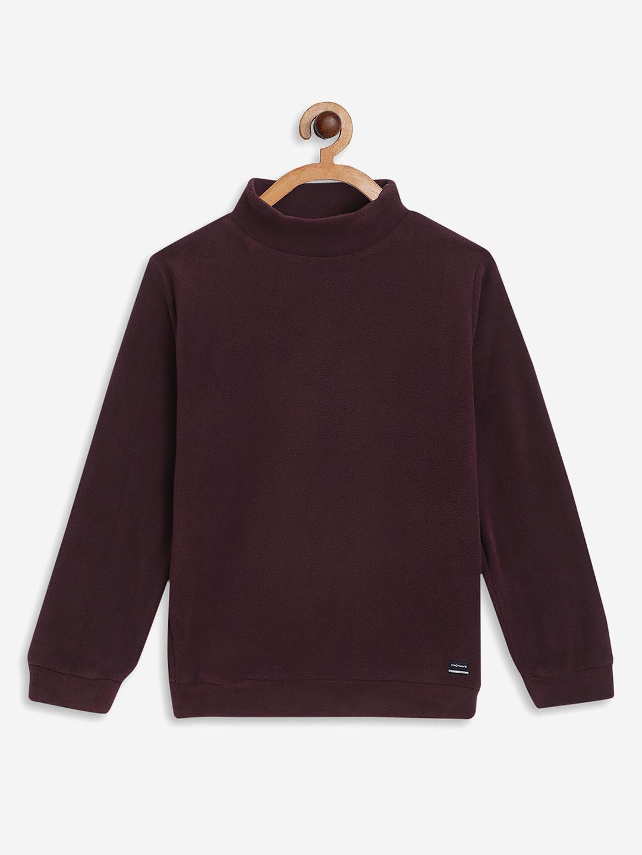 OCTAVE   Boys WINE Sweatshirts