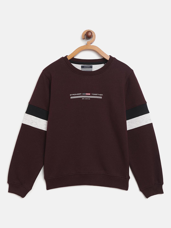 OCTAVE | Boys WINE Sweatshirts