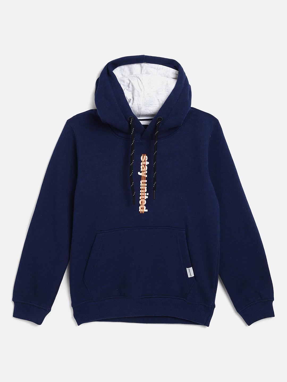 OCTAVE   Boys INDIGO MELANGE Sweatshirts
