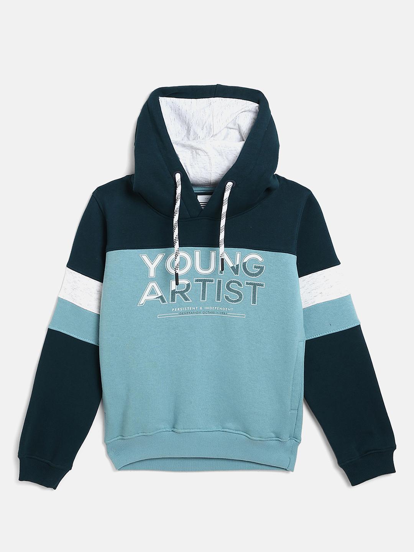 OCTAVE | Boys LIGHT TEAL Sweatshirts