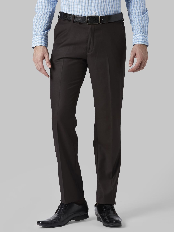 Park Avenue | Park Avenue Dark Brown Trouser