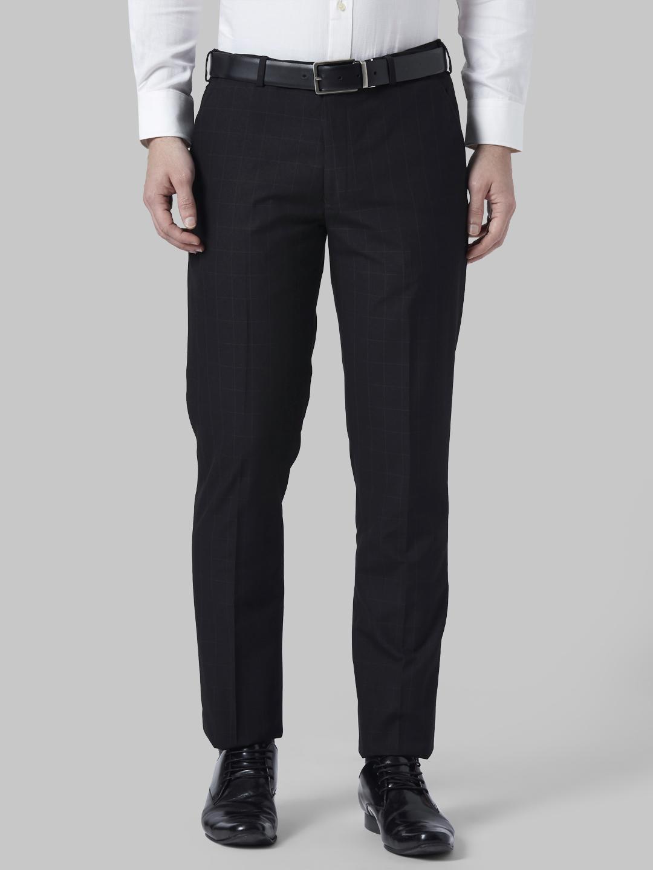 Park Avenue | Park Avenue Black Formal Trouser