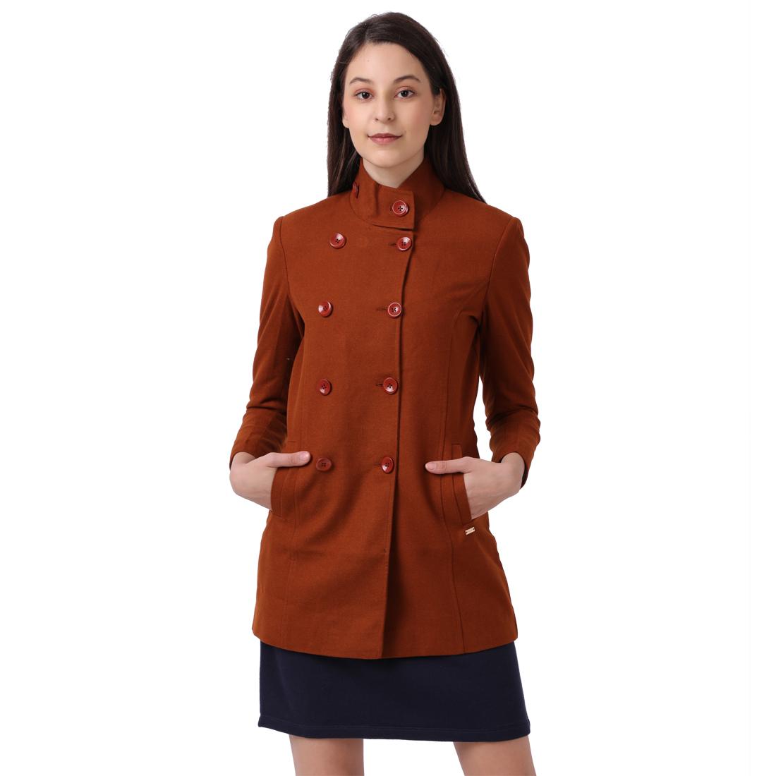 Park Avenue | Park Avenue Women Green Jacket