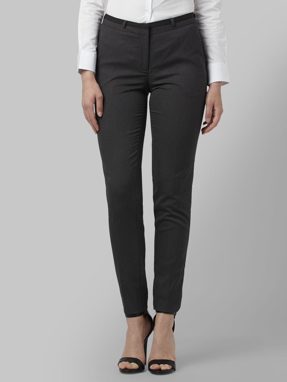 Park Avenue   Park Avenue Black Formal Trouser