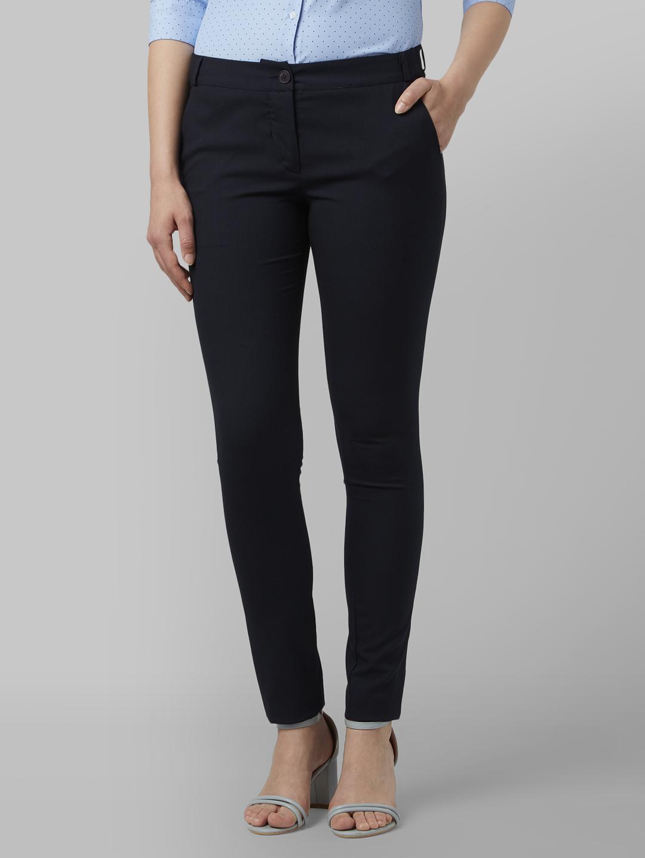 Park Avenue | Park Avenue Woman Dark Blue Trouser