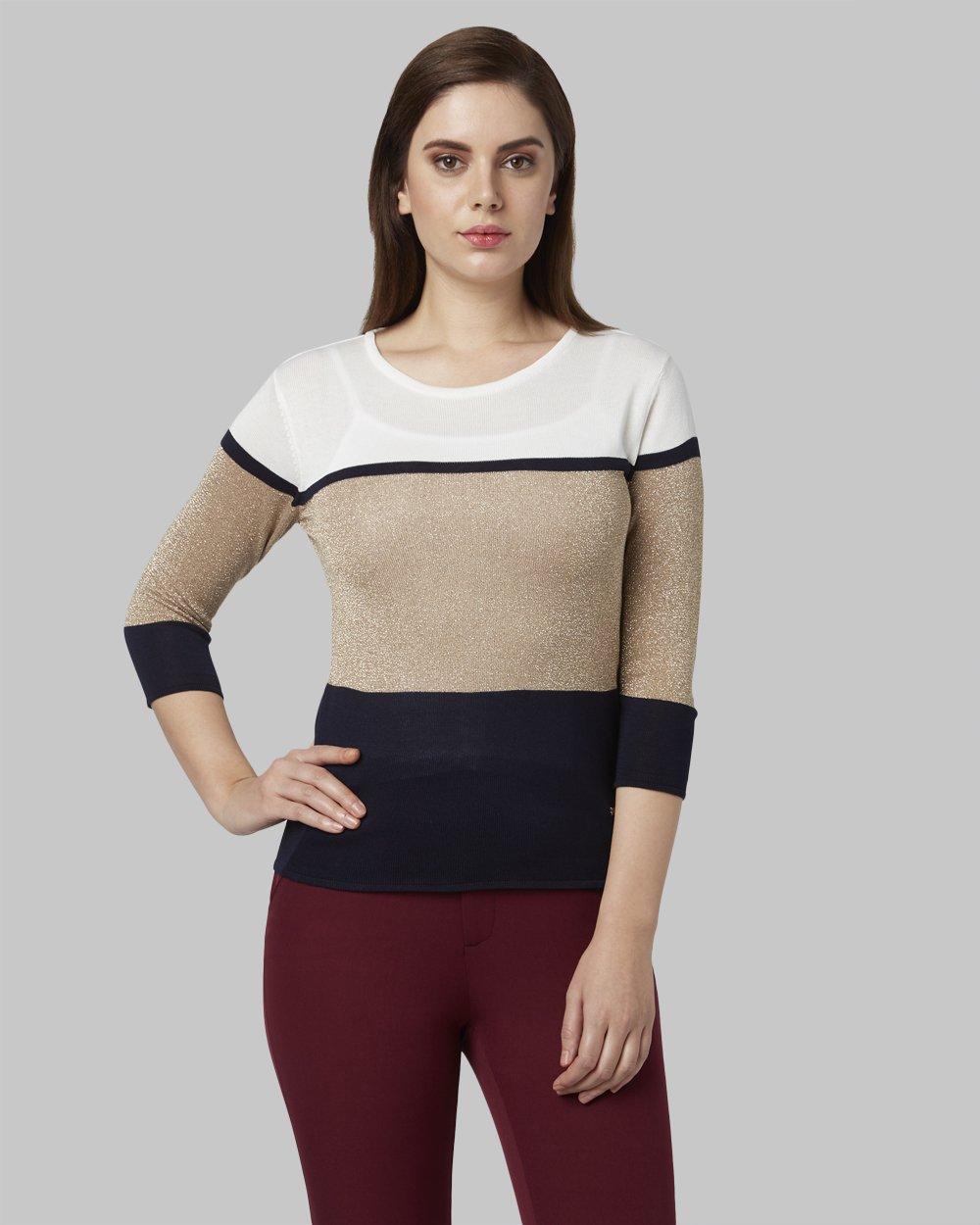 Park Avenue | Park Avenue Woman White Sweater