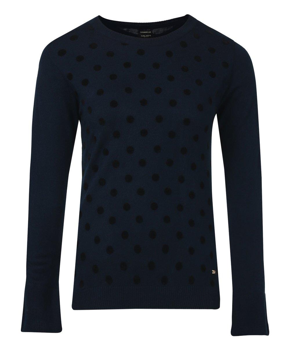 Park Avenue   Park Avenue Blue Sweater